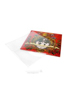 "10 5/8"" x 10 5/8"" No Flap Crystal Clear Album Sleeve (100 Pieces) [BLP10NF]"
