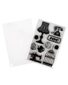 """4 1/4"""" x 6 1/8"""" No Flap, Value Crystal Clear Bags® (250 Pieces) [VL4X6NF]"""