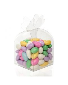 Twist top candy box