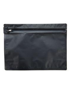 "9"" x 12"" Matte black child resistant bag"