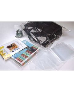 "2"" x 12"" LDPE-Plain Opened Bags, 1.5 mil (100 Pieces) [PE1H212]"