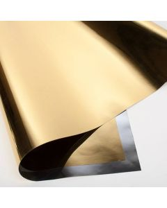 "18"" x 32"" Gold Metallic Gift Wrap (10 Pieces) [FW1G]"