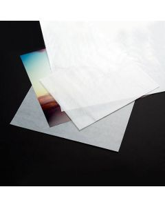 "4"" x 8"" Glassine Paper Sheet (25 Pieces) [GS48]"