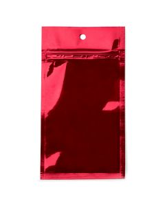 3 x 4 1/2 red metallized barrier bag