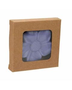 "2 3/4"" x 9/16"" x 2 11/16"" Kraft Paper Window Box"