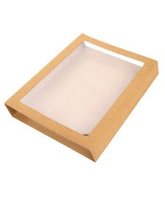 "5 15/16"" x 1 1/16"" x 7 15/16"" Kraft Slip Cover (25 Pieces) [KR34]"