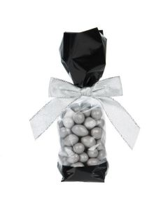 Candy packaged in Stand Up Gusset Bag with Black Bands