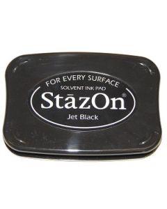 Jet Black StazOn Ink Pad [SZ31]