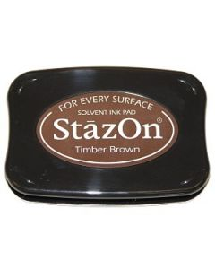 Timber Brown StazOn Ink Pad [SZ41]