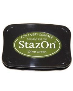 Olive Green StazOn Ink Pad [SZ51]