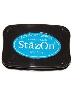 Teal Blue StazOn Ink Pad [SZ63]