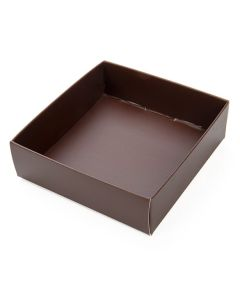 "brown box bottom 3 1/8"" x 1"" x 3 1/4"""