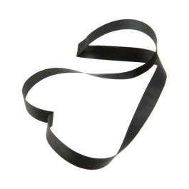 "10"" Black Vinyl Stretch Loop (50 Pieces) [10CVLBK] -"