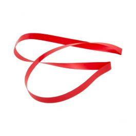 "14"" Red Vinyl Stretch Loop (50 Pieces) [14CVLRD]"