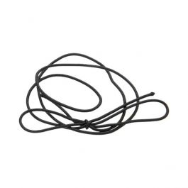 "16"" Solid Black Stretch Loop (50 Pieces) [16SB]"