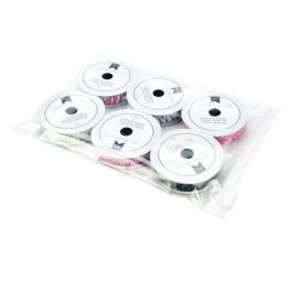 "5"" x 7"" Sliding Zip Top Bags, 3 mil (100 Pieces) [3SZ57]"