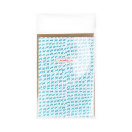 "3 13/16"" x 5 3/16"" + Flap, Crystal Clear Protective Closure Bags (100 Pieces) [B3X5PC]"