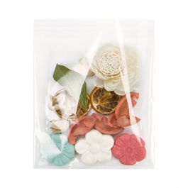 "6 7/8"" x 6 3/4"" + Flap, Crystal Clear Bags® (100 Pieces) [B66XL]"