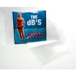 "7 3/8"" x 7 3/8"" Crystal Clear 45 Album Sleeve, No Flap (100 Pieces) [BLP45NF]"