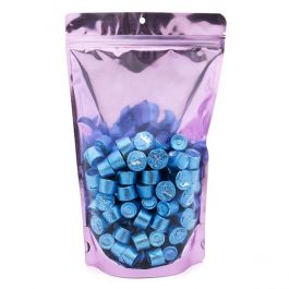"6 3/4"" x 3 1/2"" x 11 1/4"" (Outer Dims) Brilliant Lavender Stand Up Pouch w/Hang Hole (100 Pieces) [ZBGB4LV]"