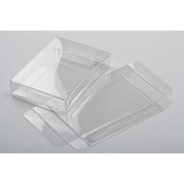 "2 3/4"" x 5/8"" x 3 3/4"" Crystal Clear Boxes® (25 Pieces) [FB92]"