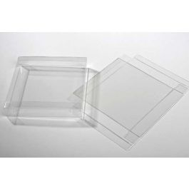 "5 7/8"" x 1"" x 5 7/8"" Crystal Clear Boxes® (25 Pieces) [FB189]"