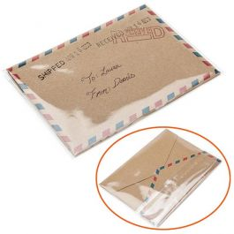 """4 1/4"""" x 3 1/8"""" + Flap, Crystal Clear Bags® (100 Pieces) [B34]"""