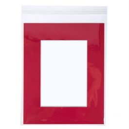 "8 7/16"" x 10 1/4"" + Flap, Crystal Clear Bags® (100 Pieces) [B108]"