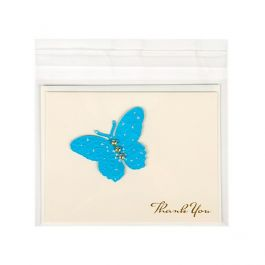 """5 7/8"""" x 4 1/2"""" + Flap, Crystal Clear Bags® (100 Pieces) [B45]"""