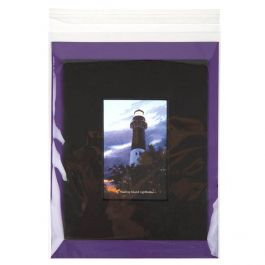 "9 1/2"" x 12 1/2"" + Flap, Crystal Clear Bags® (100 Pieces) [B9H12H]"