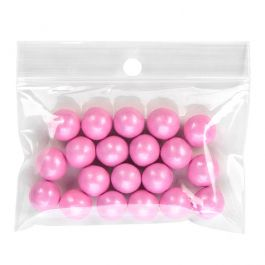 """3"""" x 2"""" Crystal Clear Zip +  Round Hang Hole 2 mil (100 Pieces) [ZR32]"""