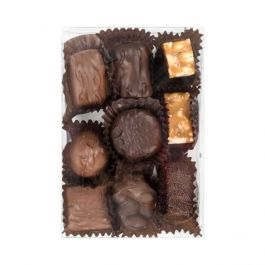 "4 1/8"" x 1"" x 6 1/8"" Chocolate Box with Insert (100 Sets) [CNDY167]"