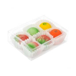 """2 5/8"""" x 1"""" x 3 9/16"""" Chocolate Box with Insert (100 Pieces) [CNDY172]"""