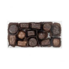 "4 1/4"" x 1 5/8"" x 8 1/2"" Truffle Box with Insert (100 Pieces) [CNDY193]"