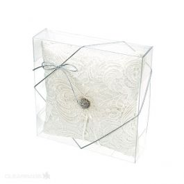 """7 11/16"""" x 2"""" x 7 1/2"""" Crystal Clear Boxes® (25 Pieces) [FPB258]"""