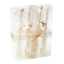 "4 7/8"" x 1 1/4"" x 6 5/8"" Crystal Clear Boxes® (25 Pieces) [FB29]"