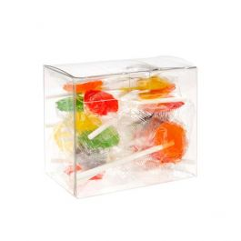 "3 5/8"" x 2 1/8"" x 3"" Crystal Clear Boxes® (25 Pieces) [FPLB216]"