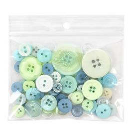 """4"""" x 3"""" Crystal Clear Zip Bags + Round Hang Hole, 2 mil (100 Pieces) [ZR43]"""