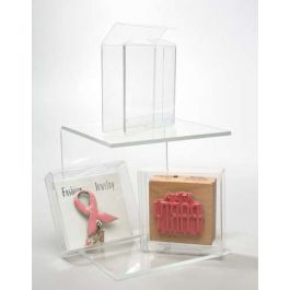 """2 5/8"""" x 13/16"""" x 4 5/16"""" Crystal Clear Boxes® (25 Pieces) [FB127]"""