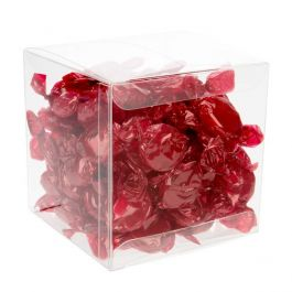 "4"" x 4"" x 4"" Crystal Clear Boxes® (25 Pieces) [FB56]"