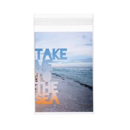 "4 5/8"" x 6 3/8"" + Flap, Crystal Clear Bags® (100 Pieces) [B4X6XL]"