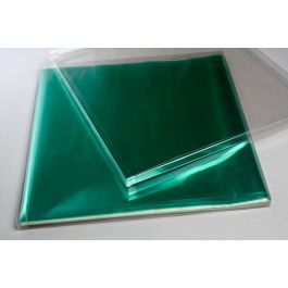 "12 1/8"" x 1/2"" x 12 5/8"" Crystal Clear Boxes® (25 Pieces) [FPB151]"