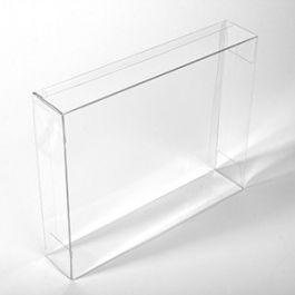 "8 1/8"" x 2"" x 10 1/16"" Crystal Clear Boxes® (25 Pieces) [FPB244]"