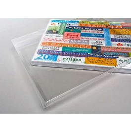 "8 5/8"" x 5/8"" x 11 1/8"" Crystal Clear Photo Box (25 Pieces) [FPB65]"
