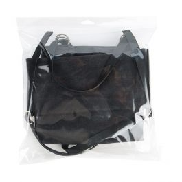 """12 1/4"""" x 12 1/2"""" + Flap, Crystal Clear Hanging Bag (100 Pieces) [HB1212H]"""