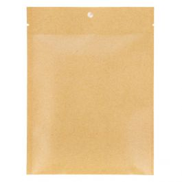"5"" x 7"" Kraft Heat Seal Bags, Matte (100 Pieces) [KHS57M]"
