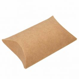 "2"" x 3/4"" x 3"" Kraft Pillow Boxes (25 Pieces) [KPB75]"