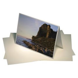 "7"" x 5"" Moab Entrada Blank Card, Bright White (50 Pieces) [PD00]"