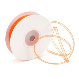 "1/8"" x 150' Orange Mono Ribbon (1 Piece) [RIB8ORG]"