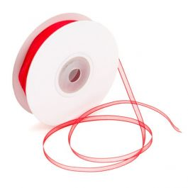 "1/8"" x 150' Red Mono Ribbon (1 Piece) [RIB8RED]"